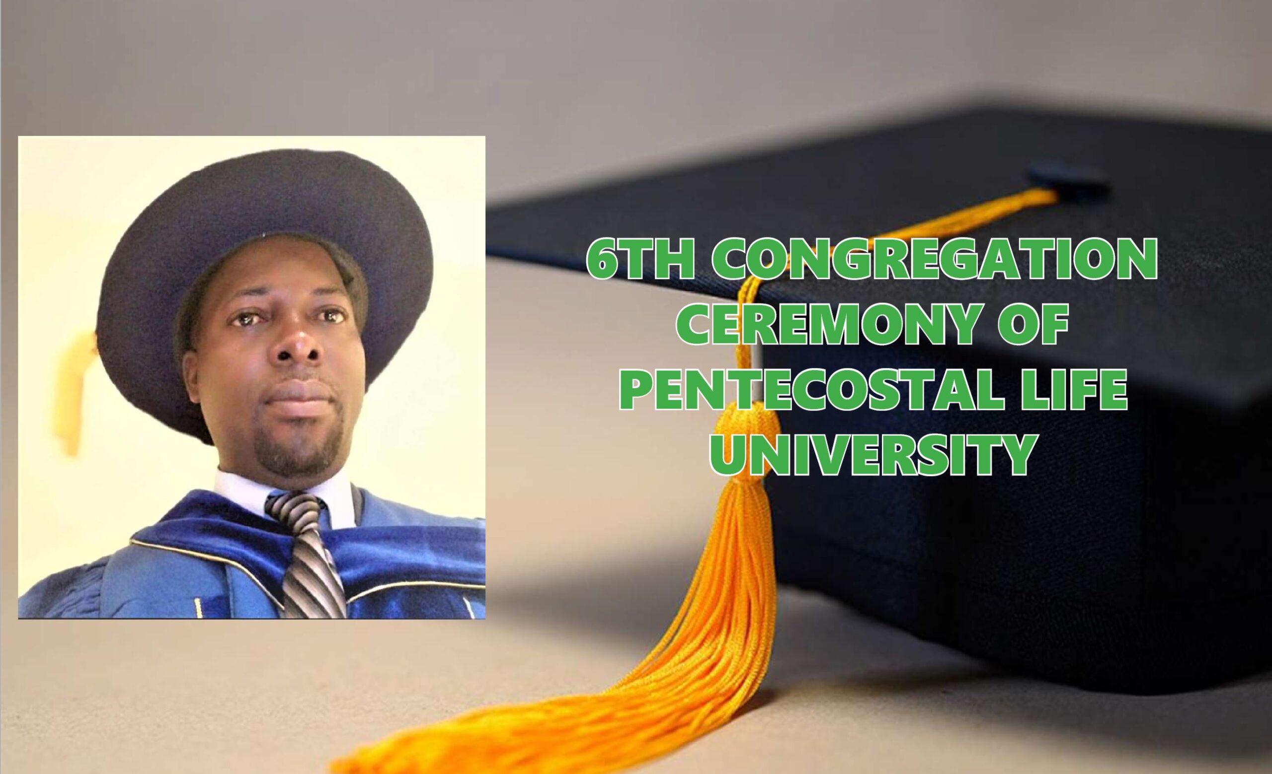 NPC Director General's Speech at the 6th Congregation Ceremony of Pentecostal Life University