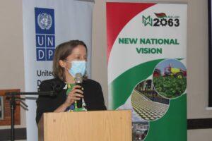 Photo 2: Claire Medina - UNDP Deputy Resident Representative